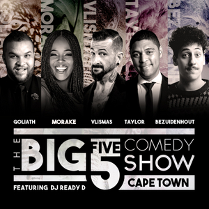 THE BIG 5 COMEDY SHOW Announces All New Line-Up This November