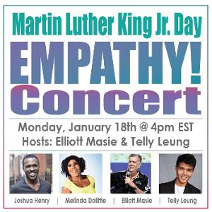 Joshua Henry, Telly Leung, and More Join Empathy Concert for Martin Luther King, Jr. Day