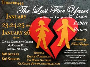 THE LAST FIVE YEARS; One Love, Two Stories at Theatre444