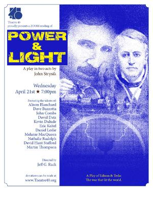 Theatre 40 Will Perform a Reading of POWER & LIGHT This Week
