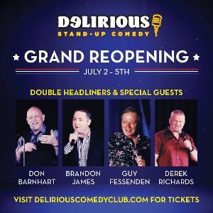 Comedian Don Barnhart Brings Live Comedy Back To Las Vegas