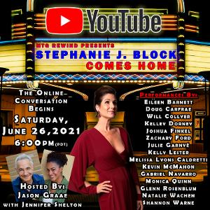 STEPHANIE J. BLOCK COMES HOME to be Presented by Musical Theatre Guild