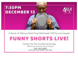 FUNNY SHORTS LIVE! December Cast And Shows Announced