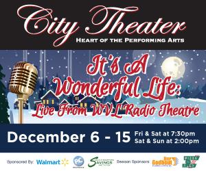 City Theater in Biddeford Presents IT'S A WONDERFUL LIFE: Live From WVL Radio Theater