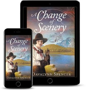 Davalynn Spencer Releases New Sweet Historical Romance 'A Change Of Scenery'