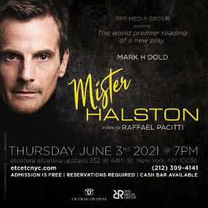 Mark H. Dold to Star in World Premier Reading Of New Play MISTER HALSTON