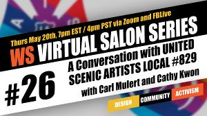 Wingspace Theatrical Design Presents Free Virtual Salon With United Scenic Artists Local #829