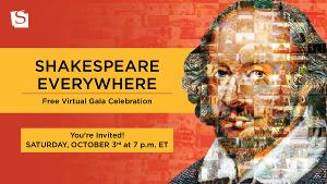 Shakespeare Theatre Company Invites All To Attend Free Virtual Gala SHAKESPEARE EVERYWHERE