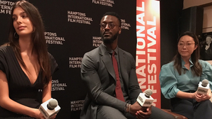 Hamptons IFF Breakout Artists Lulu Wang, Aldis Hodge & Camila Morrone Talk Movies On Tom Needham's SOUNDS OF FILM