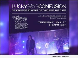 Lucky Boys Confusion Celebrates 20th Album Anniversary With Global Streaming Event Memorial Day Weekend
