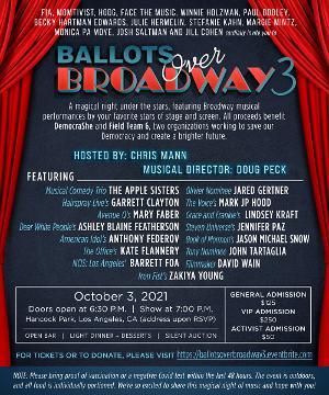 BALLOTS OVER BROADWAY 3 Coming To LA, October 3