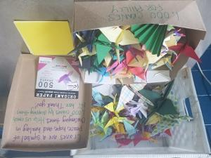 The Wilma Theater Seeking Paper Cranes For Special Installation At Sunday Breakfast Rescue Mission