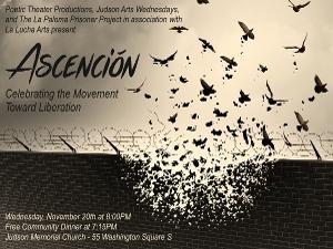 Ascención: Celebrating The Movement Toward Liberation Next Wednesday At Judson Memorial Church