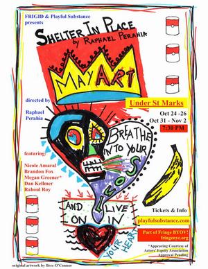 Playful Substance Co. Premieres SHELTER IN PLACE At FringeBYOV