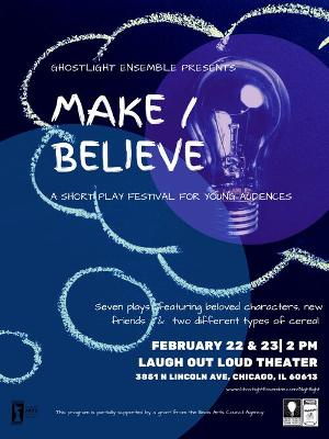 Ghostlight Ensemble Theatre Company Presents their Festival Of New Works For Young Audiences