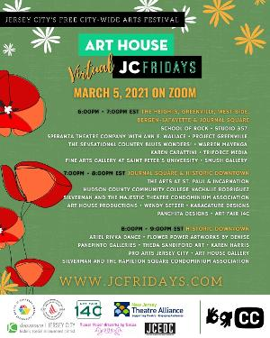Art House Productions Announces Lineup For VIRTUAL JC FRIDAYS On March 5