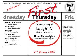 Howl Playwrights Continues 'First Thursdays' Series Virtually With Laugh-IN!