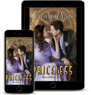 Catherine Stein Releases New Steampunk Romance PRICELESS