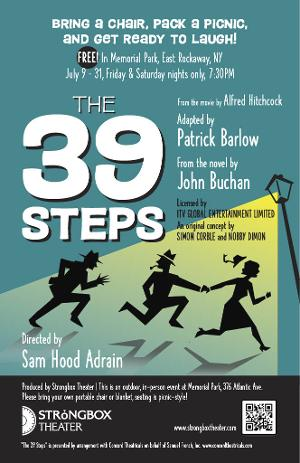 THE 39 STEPS to be Presented by Strongbox Theater
