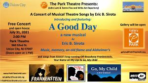 A GOOD DAY Musical Theatre Concert Will be Performed at the Historic Park Theatre