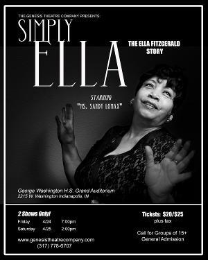 The Genesis Theatre Company Presents SIMPLY, ELLA