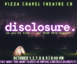 Start Spooky Season With Pizza Chapel Theatre's DISCLOSURE