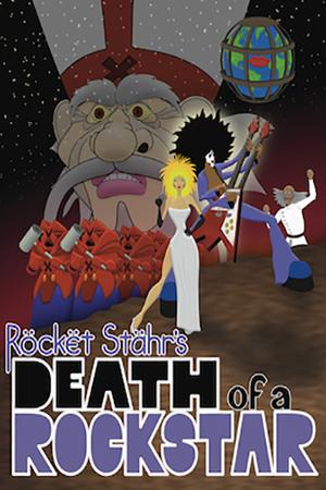 DEATH OF A ROCKSTAR World's 1st Feature-Length Animated Rock Opera to Premiere in NYC