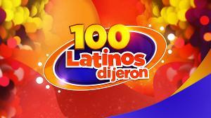 100 LATINOS DIJERON Returns to Estrella TV