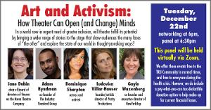 Theater Resources Unlimited Presents 'Art And Activism: How Theater Can Open (and Change) Minds'