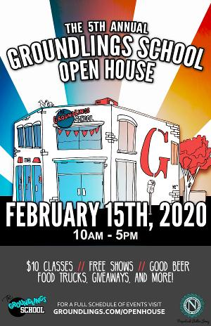 The Groundlings School Announces 5th Annual Open House