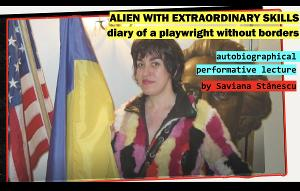 ALIEN WITH EXTRAORDINARY SKILLS to be Presented as Part of 7 Stages Theater's Festival 'Human Lights'
