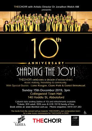 Sharing The Joy - Celebrating THECHO!R's Tenth Anniversary