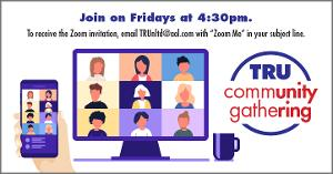 Theater Resources Unlimited Announces Upcoming TRU Community Gatherings Via Zoom