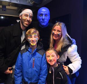 Blue Man Group Boston Kicks Off 25th Anniversary Celebration During February School Vacation Week