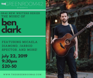 The Music of Ben Clark Comes to The Green Room 42