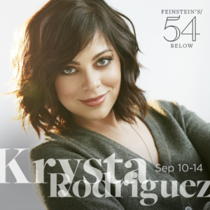 Krysta Rodriguez Reschedules 54 Below Solo Debut for September