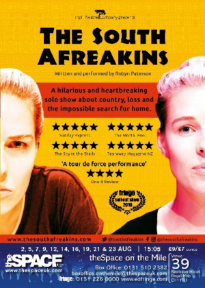 THE SOUTH AFREAKINS Returns To Edinburgh Festival