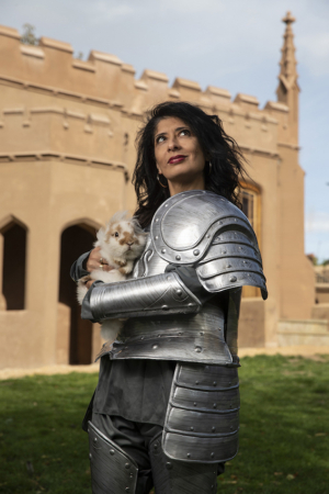 Shappi Khorsandi Announces Short Autumn Tour Of SKITTISH WARRIOR...CONFESSIONS OF A CLUB COMIC