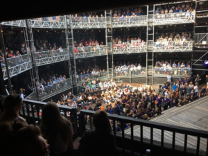More Than 4500 School Children Enjoy Shakespeare At Pop Up Theatre