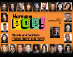 Brian Calì Presents HARMONY POP! At The Green Room 42