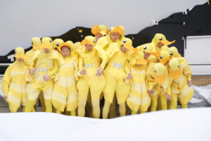 Hong Kong Dance Company Presents A SEA OF SMILING LT DUCKS