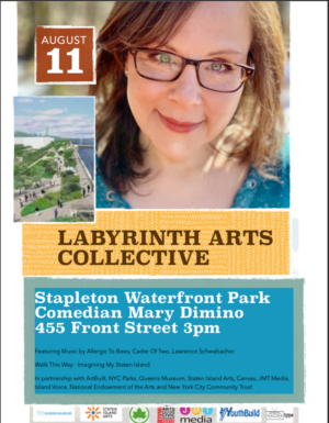 Mary Dimino Returns To Stapleton Waterfront Park
