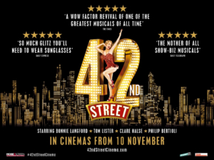 42ND STREET Starring Bonnie Langford To Be Screened In Cinemas Across the UK and Ireland