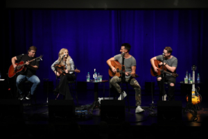 CMA Visits Charlotte With Russell Dickerson, Lindsay Ell, Jordan Reynolds And Frank Rogers