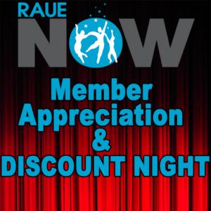 Raue Center Hosts Member Appreciation & Discount Night