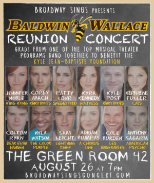 Baldwin Wallace Alums to Honor Memory of Kyle Jean-Baptiste at Benefit Concert