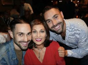 Valerie Perri And Sons Jack and Benny Lipson Bring ALL IN THE FAMILY To Rubicon