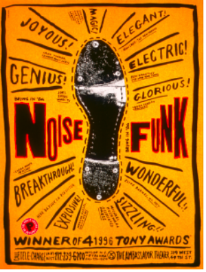 Poster House Receives Donation Of Rare Public Theater Posters From Graphic Designer Paula Scher
