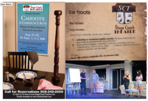 CAHOOTZ, A Comedy Announced At Stage Coach Theatre