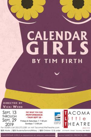 Tacoma Little Theatre Premieres CALENDAR GIRLS
